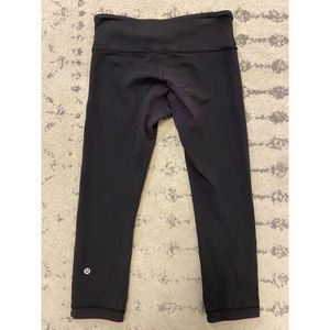 Lululemon Reversible Crop Leggings Well Loved